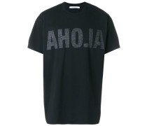 "T-Shirt mit ""Aloha""-Print"