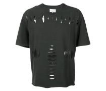 T-Shirt mit Cut-Outs - men - Baumwolle - 48