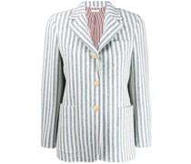 Gestreifter Tweed-Blazer