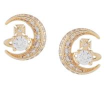 Dorina moon stud earrings