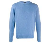 Pullover mit gerippten Abschlüssen