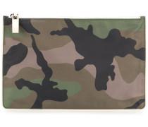 Garavani camuflage clutch