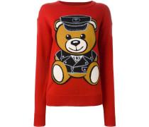 'Biker Teddy Bear' Wollcardigan