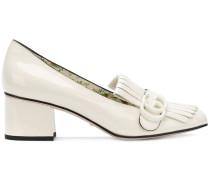'Marmont' Lackleder-Loafer mit Zierlasche