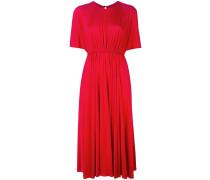 Mittellanges Kleid mit Falten