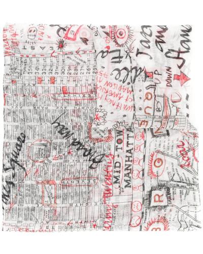 'Map of New York' Schal
