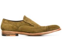Loafer mit Wildledereinsatz