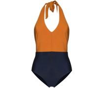 Badeanzug in Colour-Block-Optik