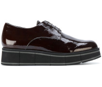 wedged oxford shoes