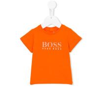 T-Shirt mit Logo-Print - kids - Baumwolle - 9 M.