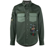 tattoo embroidered jacket
