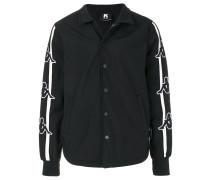 embroidered logos bomber jacket