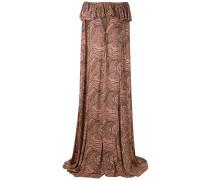 Schulterfreies Cape-Kleid