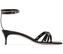 'Kaia' Sandalen aus Lackleder