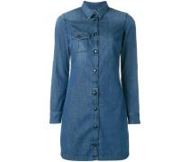 Hemd-Jeanskleid mit Knopfleiste - women