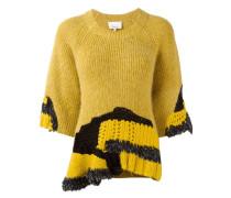 hand-crocheted jumper