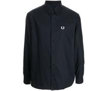 Button-down-Hemd mit Logo