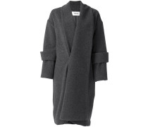 double cuff long coat