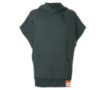 short-sleeved hooded vest