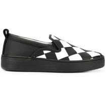 Slip-On-Sneakers mit Intrecciato-Muster