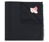 Schal mit Teddy-Print