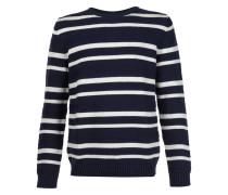 Gestreifter Pullover - men - Baumwolle - L