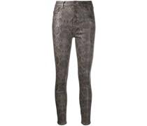 Beschichtete Skinny-Jeans