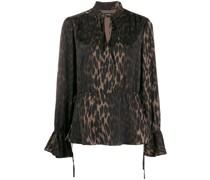 'Luxury Animal' Bluse