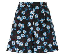 Shorts mit Blumen-Print - women - Polyester - 36