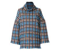 Oversized-Pullover mit geometrischem Muster