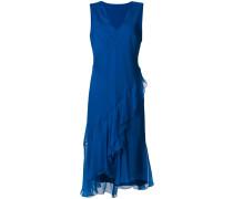 flared v-neck dress