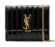 'Vicky' Umhängetasche aus Lackleder
