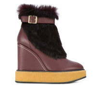 wedge snow boots