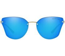 Verspiegelte Cat-Eye-Sonnenbrille