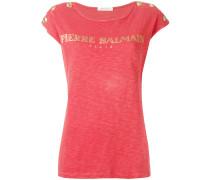 T-Shirt mit Logo - women - Baumwolle - 36