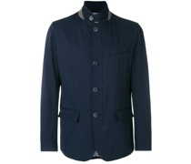 casual button jacket