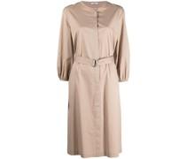 Kleid mit D-Ring-Schnalle