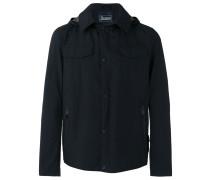 Jacke mit Kapuze - men - Polyester/Fluorofibra