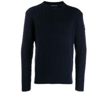 Geripptes Sweatshirt