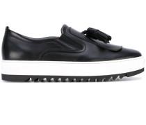 Flatform-Loafer mit Quasten - men