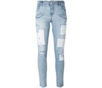 Skinny-Jeans im Used-Look - women