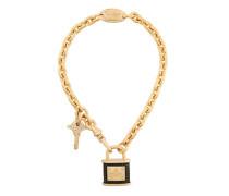 lock key pendant necklace