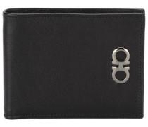 Portemonnaie mit metallischem Logo