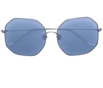 Sonnenbrille mit Silbergestell