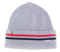 Beanie in Distressed-Optik