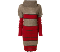 roll-neck jumper dress