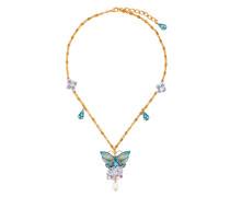Halskette mit SchmetterlingAnhänger