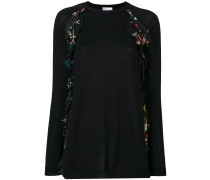 Pullover mit floralen R[schen