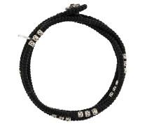 Wickelarmband mit Knotendetails