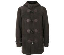Mantel aus Wildleder